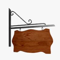 max wood sign
