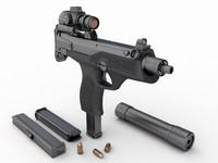 russian submachine gun aek max