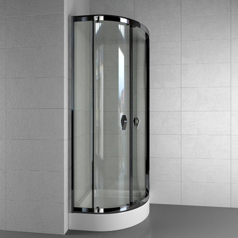 shower cabin afrodyta siros 3d max
