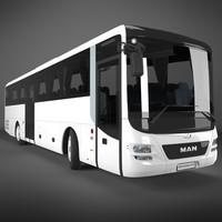 man lions intercity bus 3d max