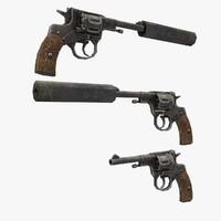 3d model nagan gun
