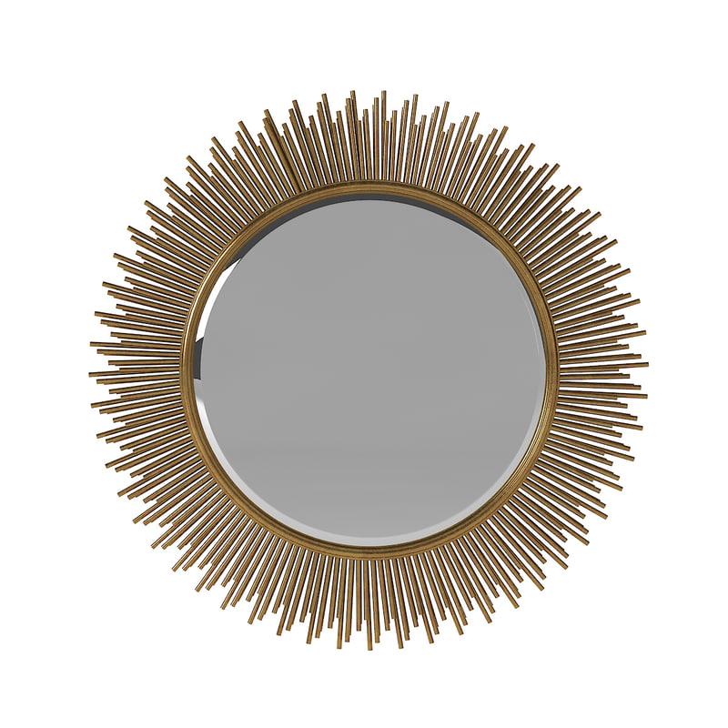 3d marlo wall mirror uttermost model