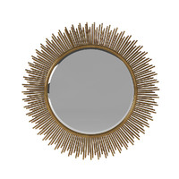 3d marlo wall mirror uttermost model