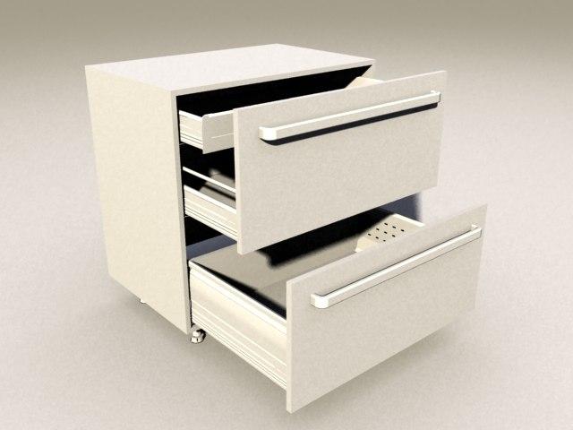 3d Model Kitchen Blum Tandembox Inner