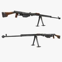 ptrs gun 3d max