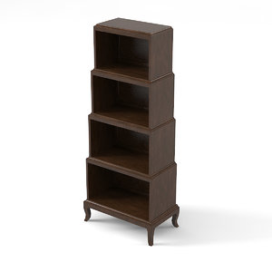 3d model bernhardt salon 341-128 etagere