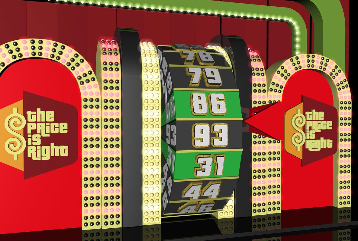 3d price right set wheel