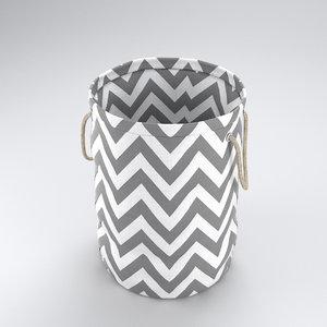 3d model laundry bag