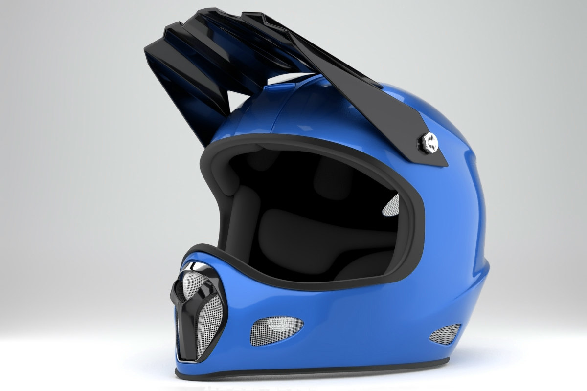 obj extreme fullface helmet