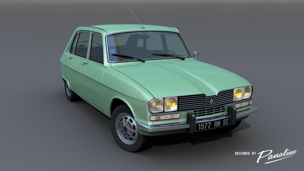 - modeled car 3d model