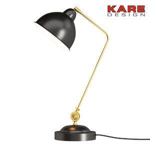 table lamp kare 3d max