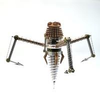 3d steampunk model