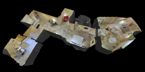 cave villa 2 3d 3ds