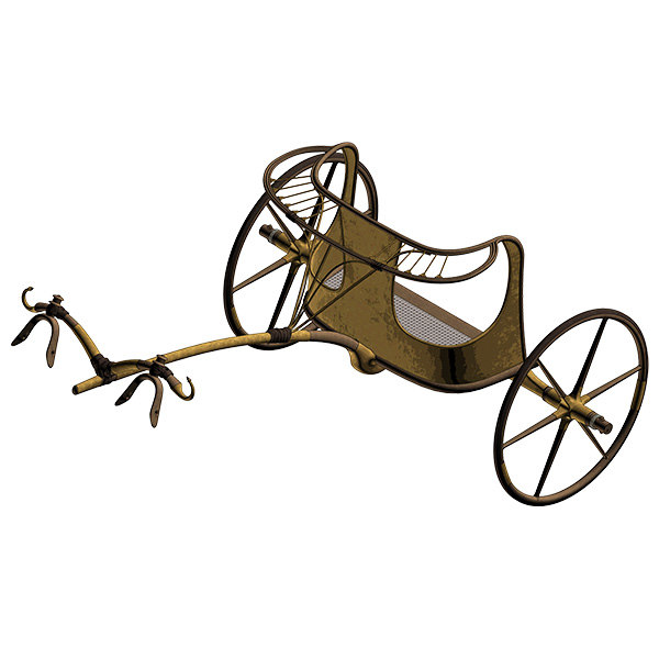 3d model ancient egyptian chariot
