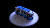 berlin tram 1940s obj