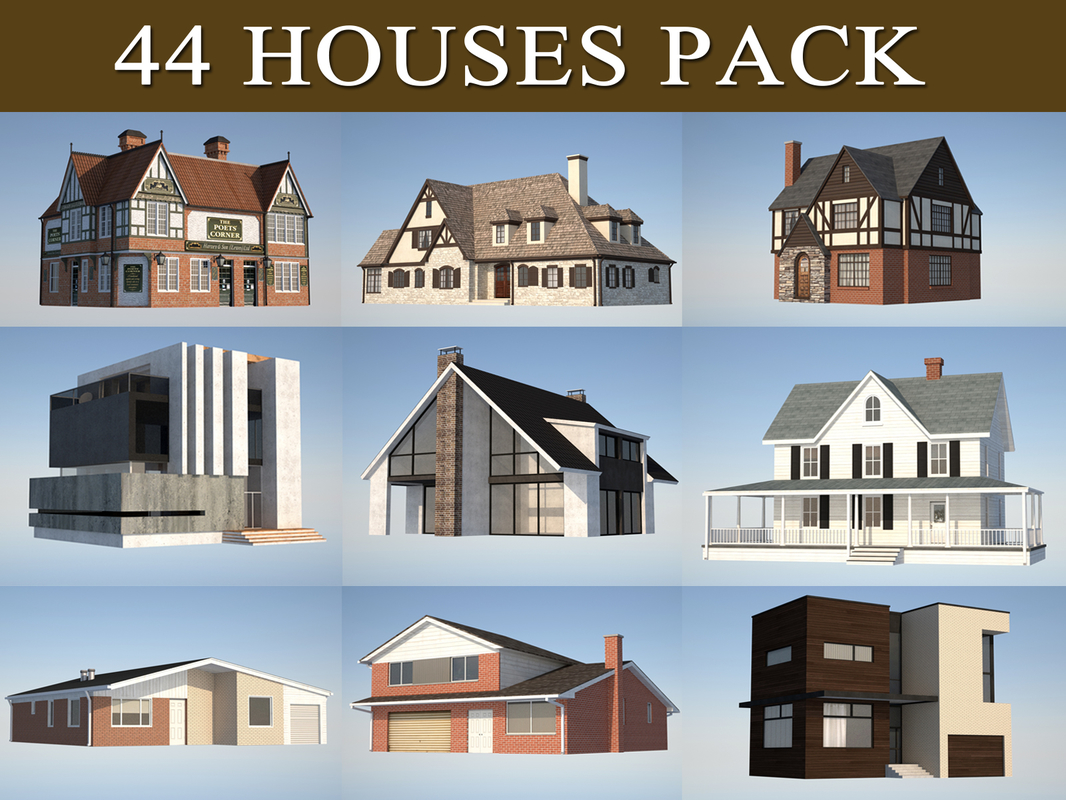 house pack c4d