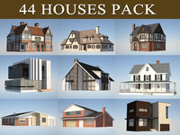 house pack c4d