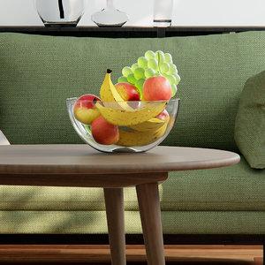 3d octane render fstorm bowl