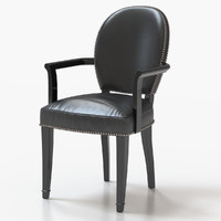 3d model duke arm chair