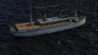 3d model general von steuben 1945