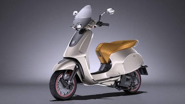 3ds generic scooter retro
