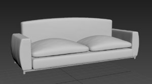 3d modelfurnishings chair lounge arm
