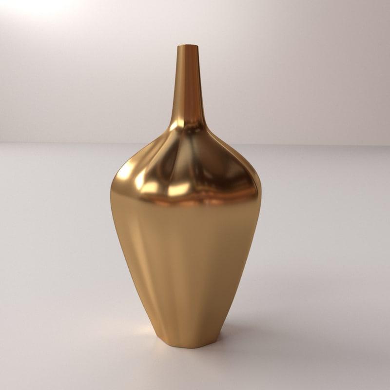 3d modern vase v3