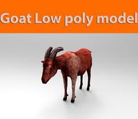 3d goat ready
