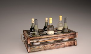 3d vine box model