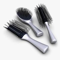 3d max hair brush