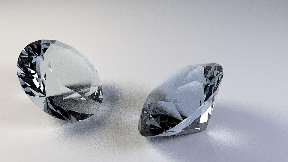 diamond obj