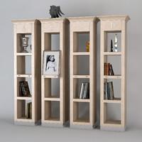 chelini bookcase 5020 3d max