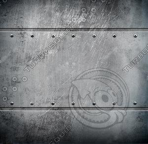 Metal rivet texture