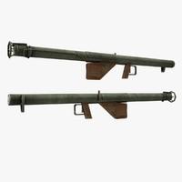bazooka gun obj
