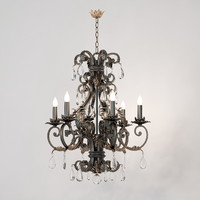 chandelier savoy lexington 3d model