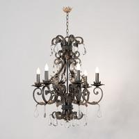 chandelier savoy lexington 3d model