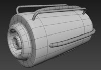 engine plane 3d model