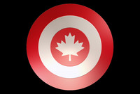 3d captain america shield model