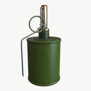 pbr rg-42 grenade 3d model