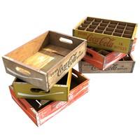 3d model vintage wooden crate