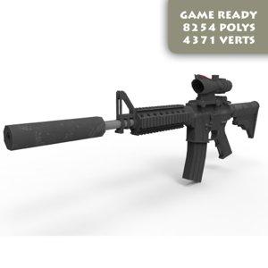 3d model ready m4 acog games