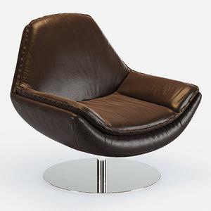 armchair dani 3d max
