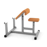 bench fitness 3d max