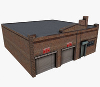 Brick Garage(Mobile Ready)
