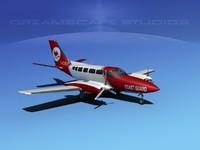 3d dwg propellers cessna 404 titan