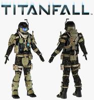 obj titanfall pilot titans