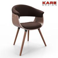 3d chair kare model