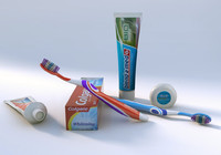 Dental Items Set