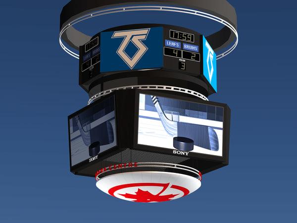 3d air canada scoreboard