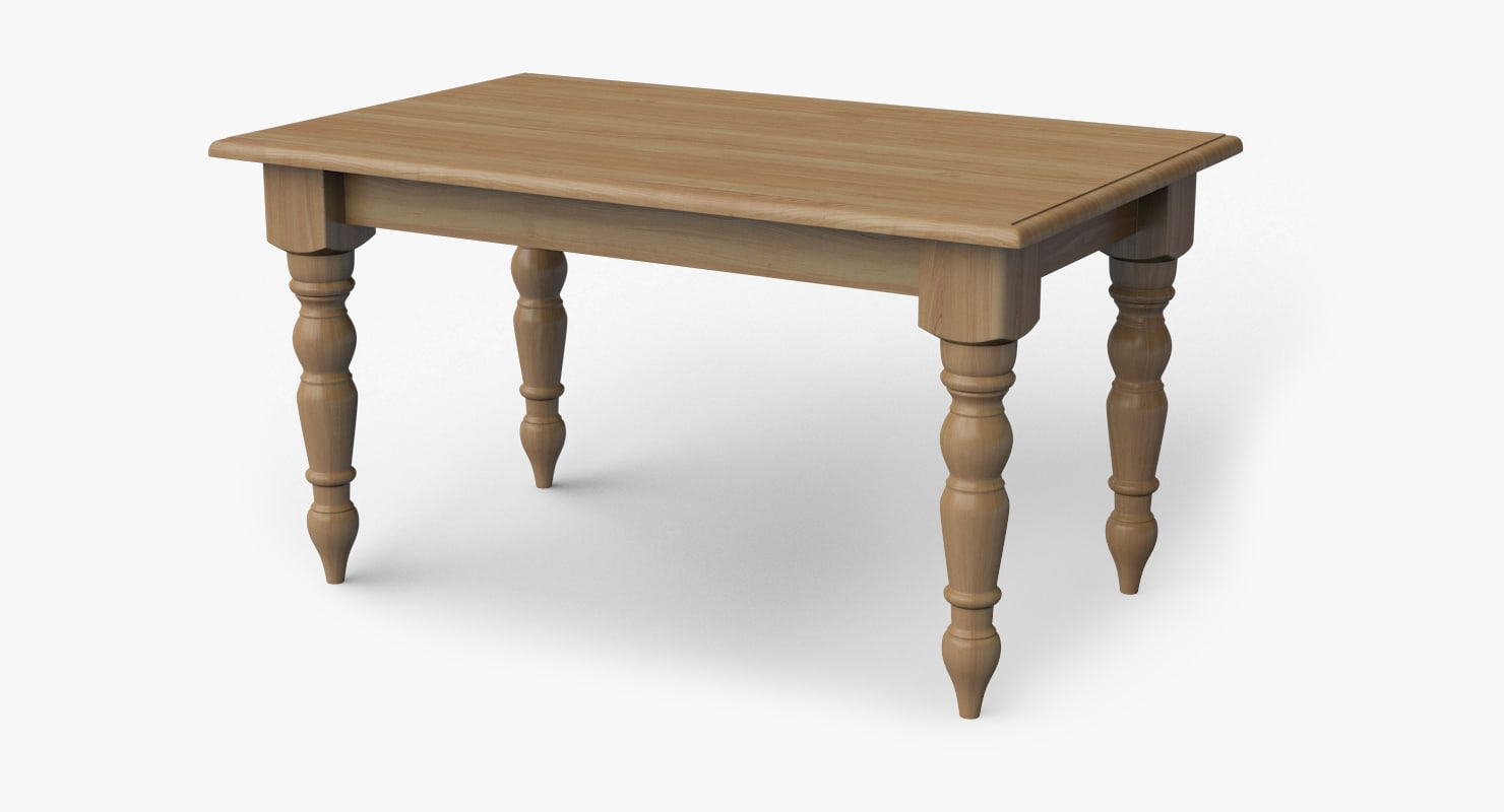 Room table 3d max for Dining room table 3ds max